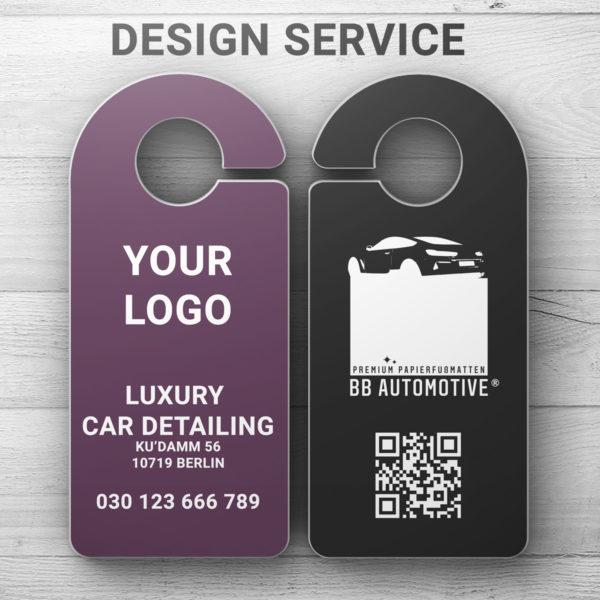 Türanhänger Design Service